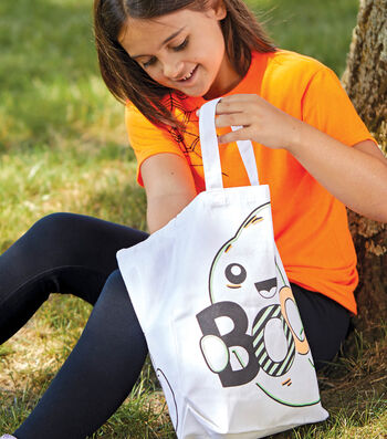 How To Make A Halloween Tote Bag