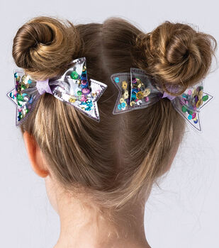 How To Make Clear Sequin bows