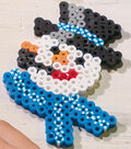 Fusible Beads Snowman