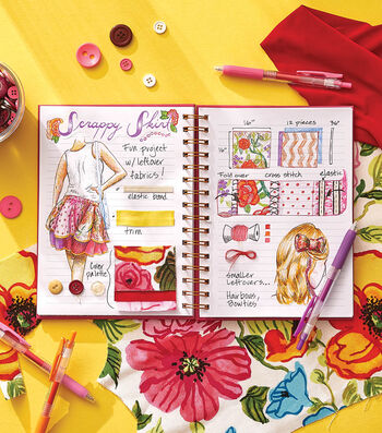 How To Make a Bullet Journal Fashion Sewing