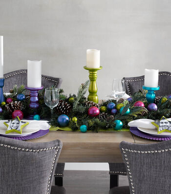 How To Make Color Shift Holiday Napkin Ring and Charger