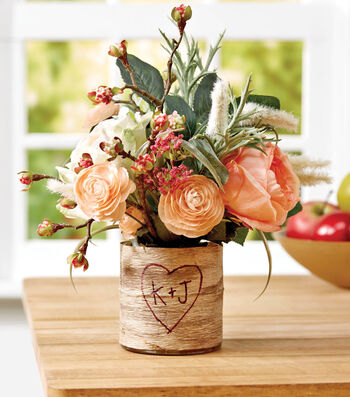 Bark Wrapped Vase