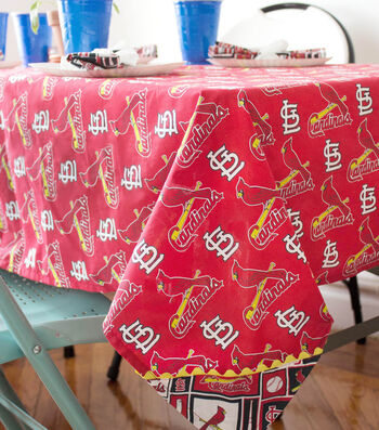 MLB WEIGHTED TABLECLOTH