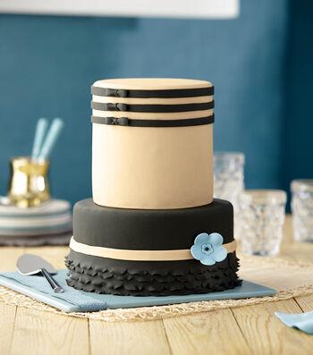 Black Tie Formal Cake