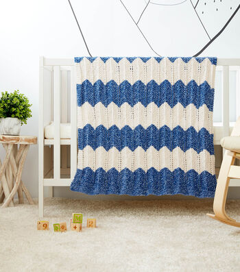How To Make a Knit Waves Blanket