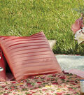 Spring Pleat Pillow