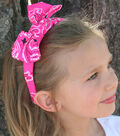 Neon Pink Paisley Bandana Headband