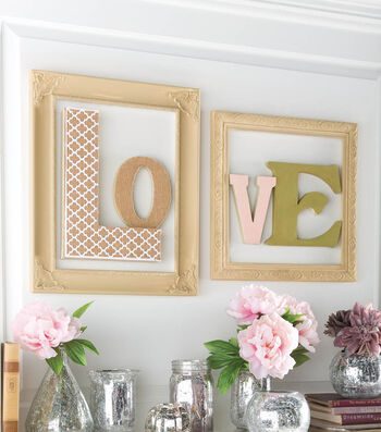 Idea Market LOVE Letters and Painted Frames