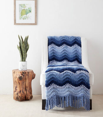 How To Make A Blanket Ombre High Tide Crochet Blanket