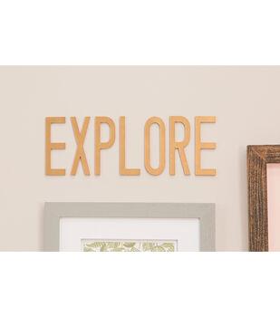 How To Make Explore World Word Art