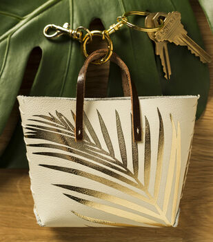 How To Make A Golden Palm Tiny Tote