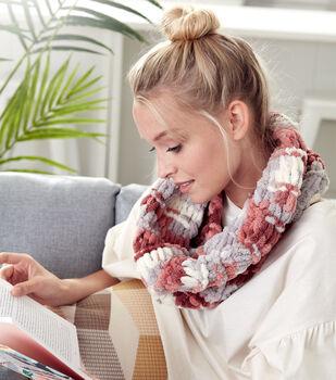 How To Make A Bernat Alize Blanket EZ Garter Ridge Cowl