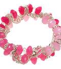 Ombre Pink Stretch Bracelet