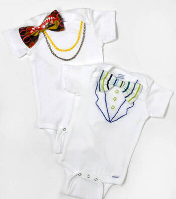 Baby Onesie with Necklace
