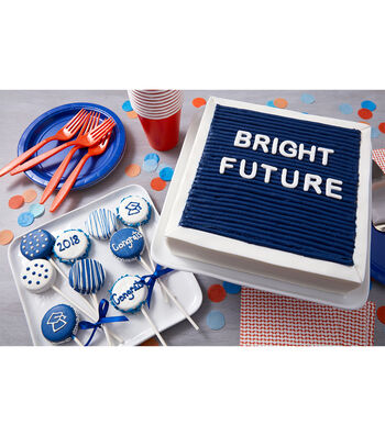 How To Make A Future Is Bright Felt Board Cake