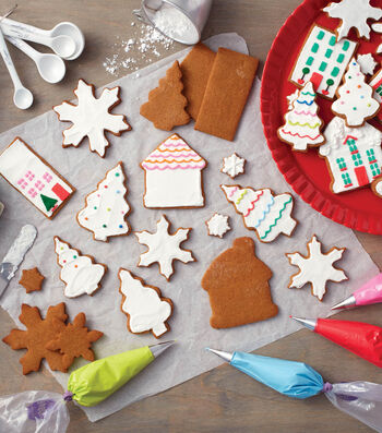 How to Make a Cookie Village