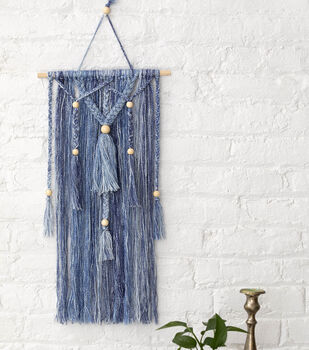How To Make a Shawl In a Ball Aksum Wall Hanging