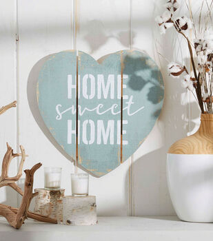 How To Make A Home Sweet Home Wood Decoration