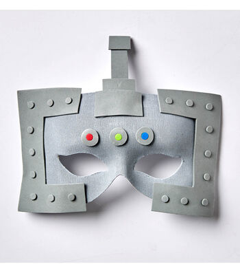 How To Make A Robot Mask