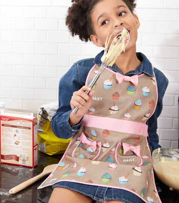 How to Make a Personalized Child's Apron