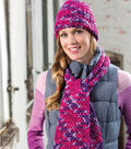 Woven Stitch Hat and Scarf