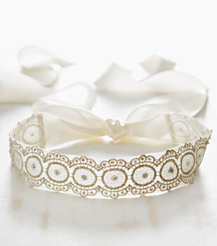 How To Make A Lace Wedding Belt