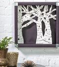 Birch Tree Shadow Box