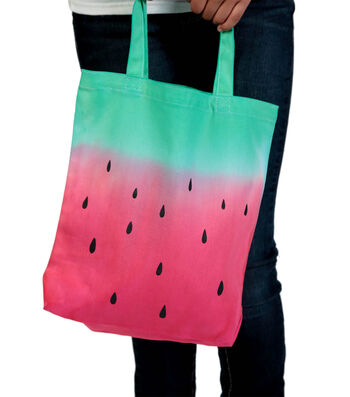 How To Make A Watermelon Tote Bag