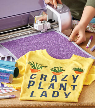 How To Make A Crazy Plant Lady T-Shirt