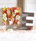 Chicken Wire Letter Floral Arrangement