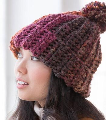 How To Make A Lion Brand Mandala Thick & Quick Pennington Hat