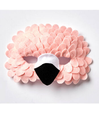How To Make A Flamingo Mask