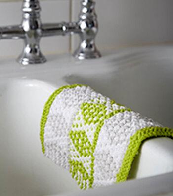 Diamond Mosaic Dishcloth