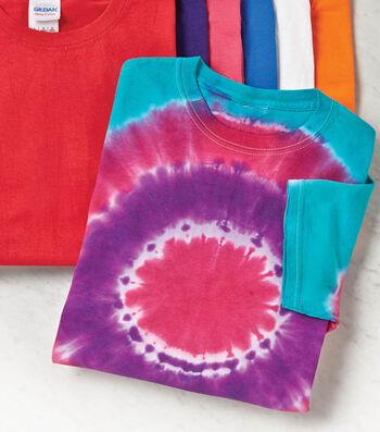 How To Make A Circlular Tie Dye Shirt