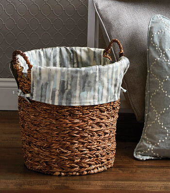 How To Make A Decorative Basket Liner