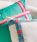 Buttercream Olivia Collection Trimmed Pillows