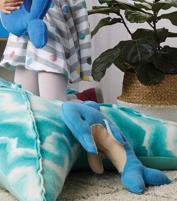 How To Make a Stuffed Fleece Dolphin