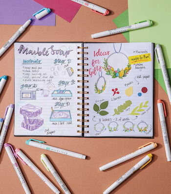 How To Make a Crafting Bullet Journal