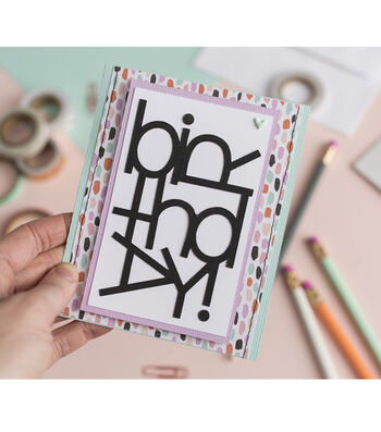 How To Make A Quirky Birthday Card
