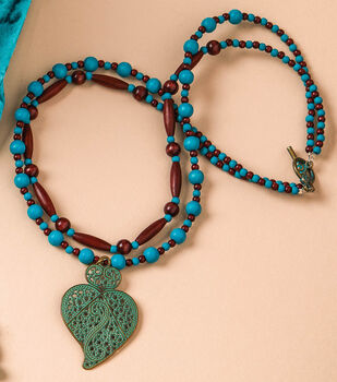 How To Make a Beaded Layered Statement Necklace