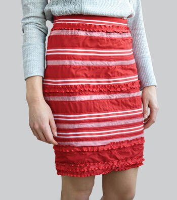 How to Make A Ribbon Embellished Skirt