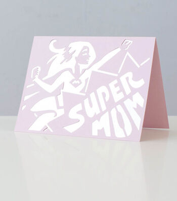How to Make a Super Mom Card