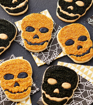 How To Make Skull Cookies