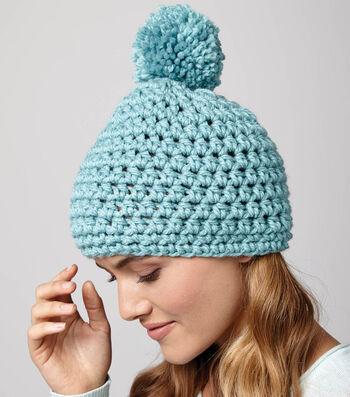Quick Pompom Hat