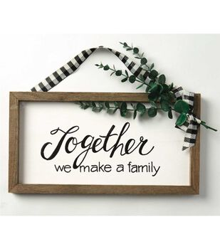 How To Make A Holiday Farmhouse Sign