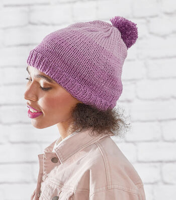 How To Make A Knit Ombre Hat