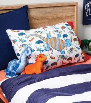 How To Make A Lizard Appliqued Pillowcase