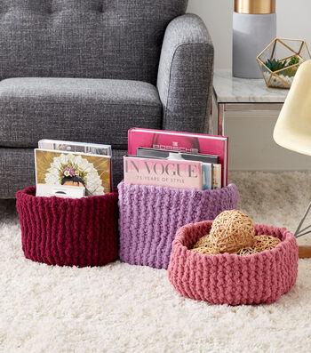 How To Make Garther Stitch Knit Baskets