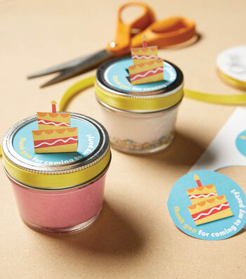 How To Make Confetti Slime and Birthday Party Favors