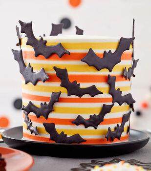 How To Make A Bat Stripe Cake